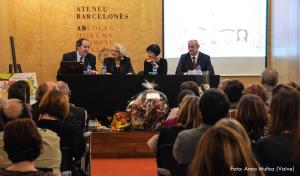 Presentació a l'Ateneu Barcelonès