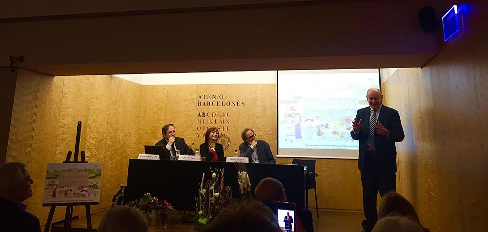 Presentació a l'Ateneu Barcelonès - Novembre 2015 (foto 1)