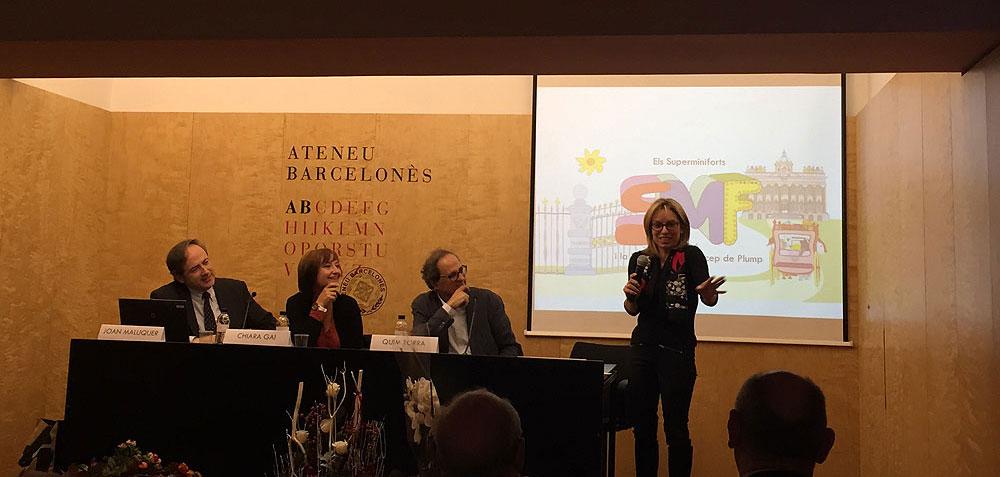 Presentació a l'Ateneu Barcelonès - Novembre 2015 (foto 2)