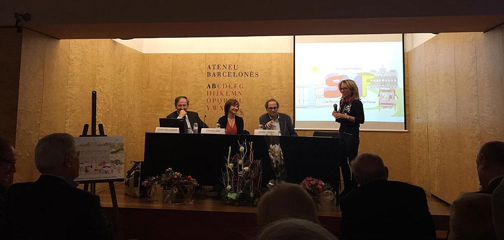 Presentació a l'Ateneu Barcelonès - Novembre 2015 (foto 3)