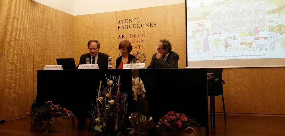 Presentació a l'Ateneu Barcelonès - Novembre 2015 (foto 4)