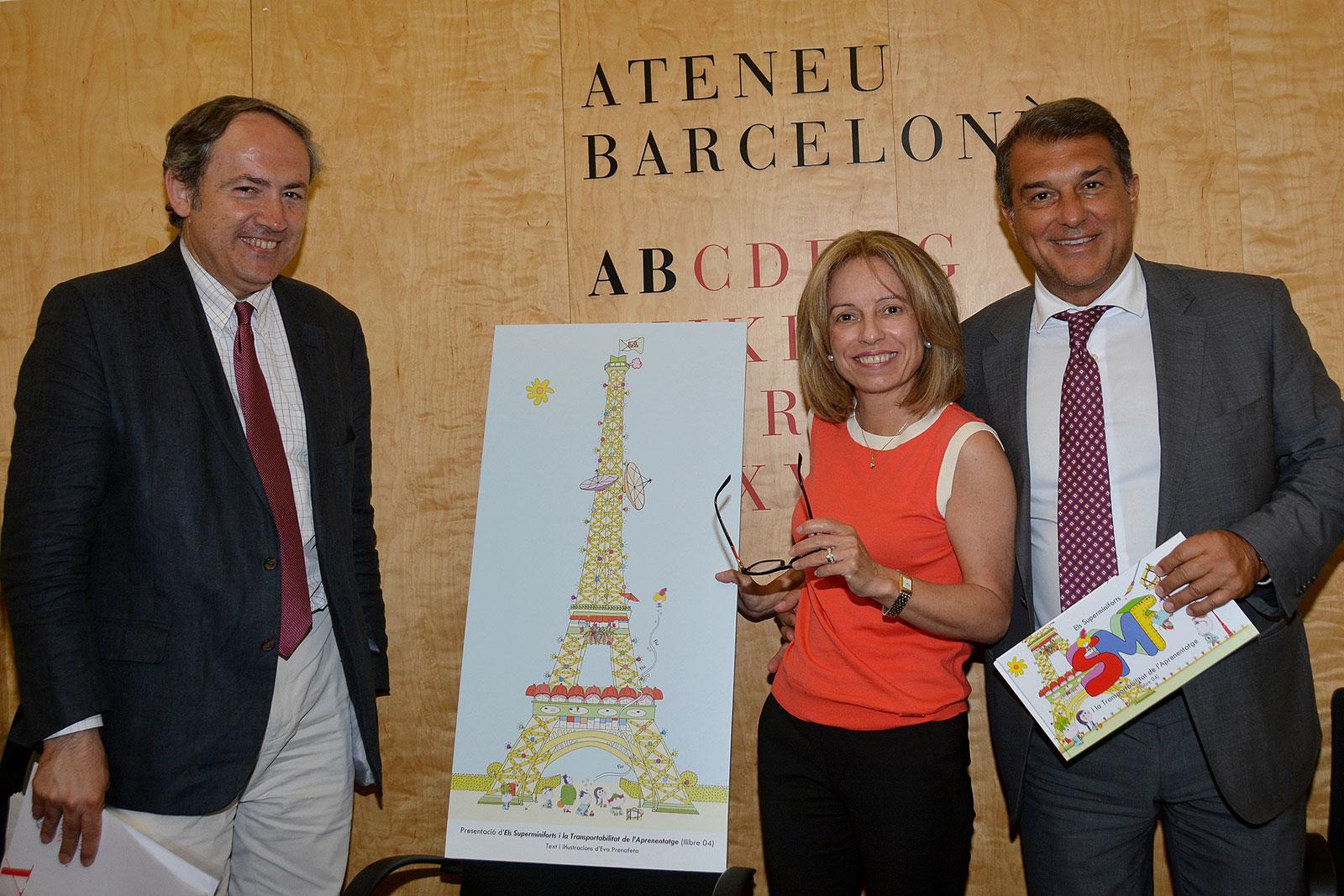 Presentació a l'Ateneu Barcelonès - Juny 2017 (foto 1)