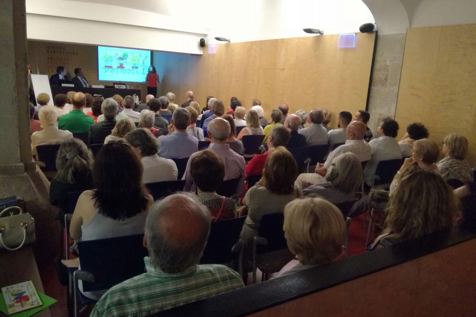 Presentació a l'Ateneu Barcelonès - Juny 2017 (foto 3)