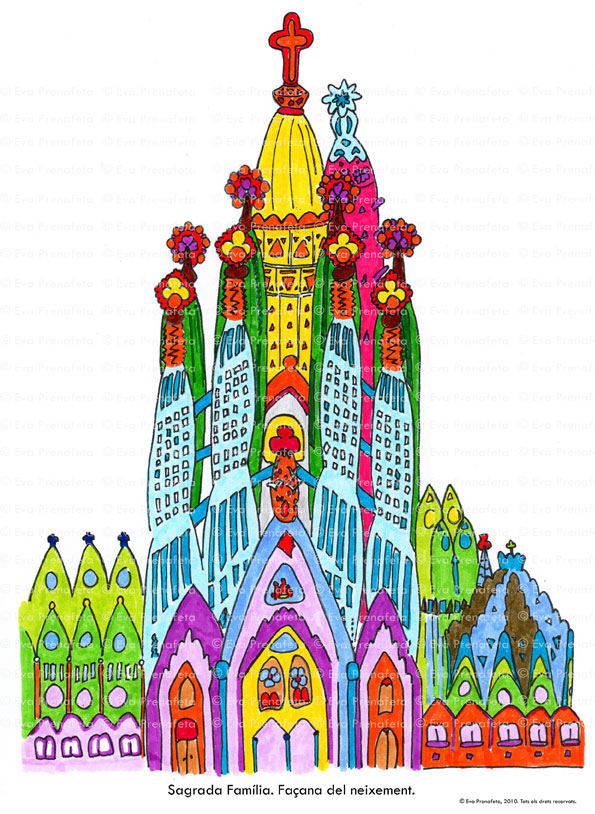 Sagrada Familia 2010 - 2020